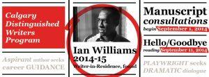 Ian Williams Calgary Distinguished Writers Program