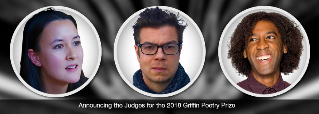 2018 Griffin Poetry Prize Judges
